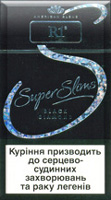 R1 Super Slims Black Diamond