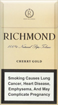 Richmond Cherry Gold Super Slims 100s